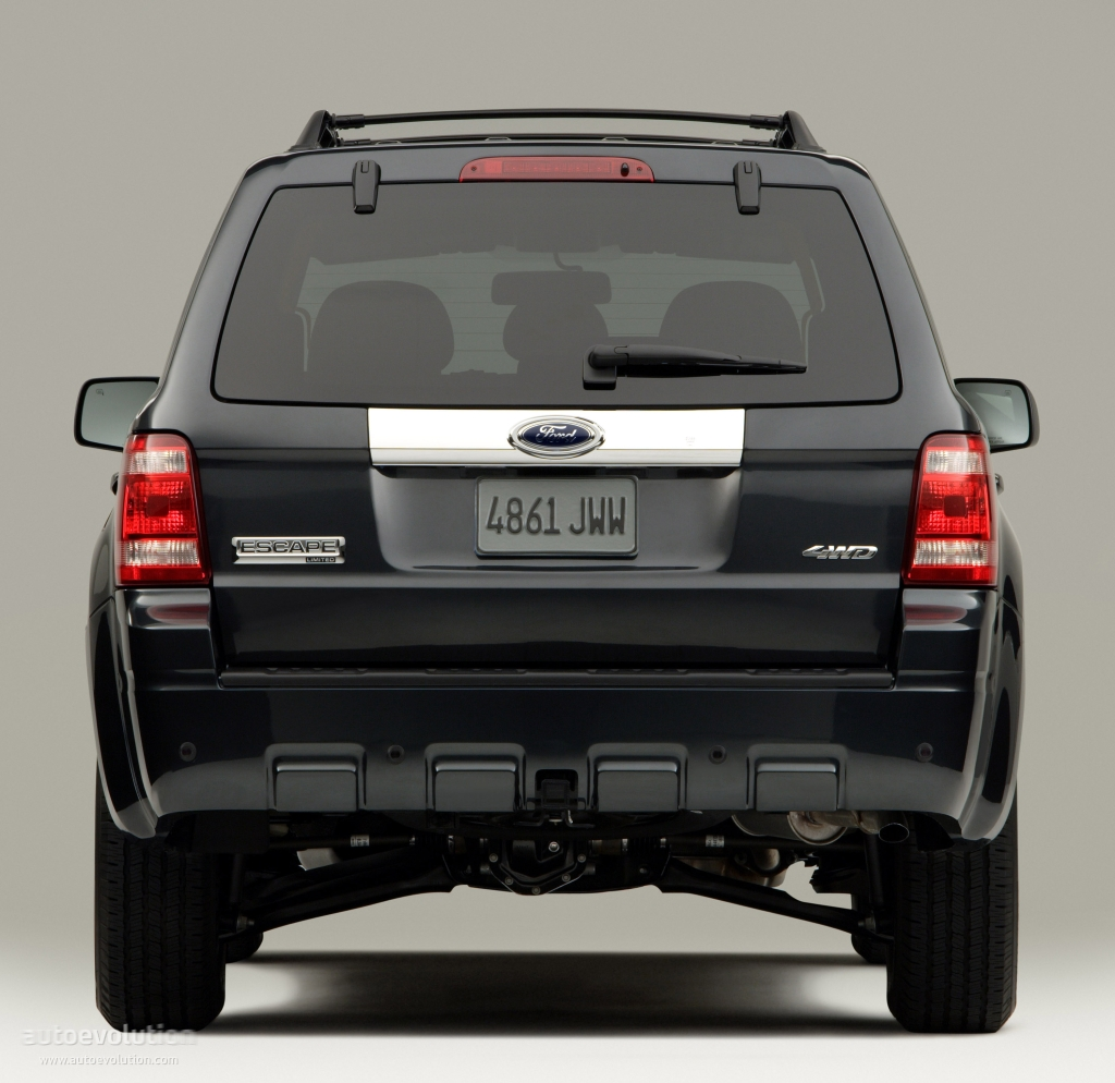 Ford Escape 2007 2008 Autoevolution