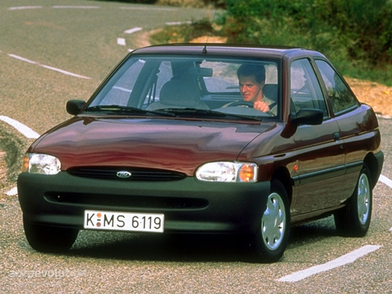 FORD Escort 3 Doors - 1995, 1996, 1997, 1998, 1999, 2000 ...