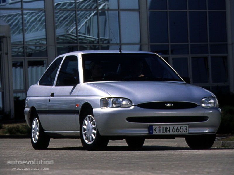 FORD Escort 3 Doors specs & photos - 1995, 1996, 1997 ...