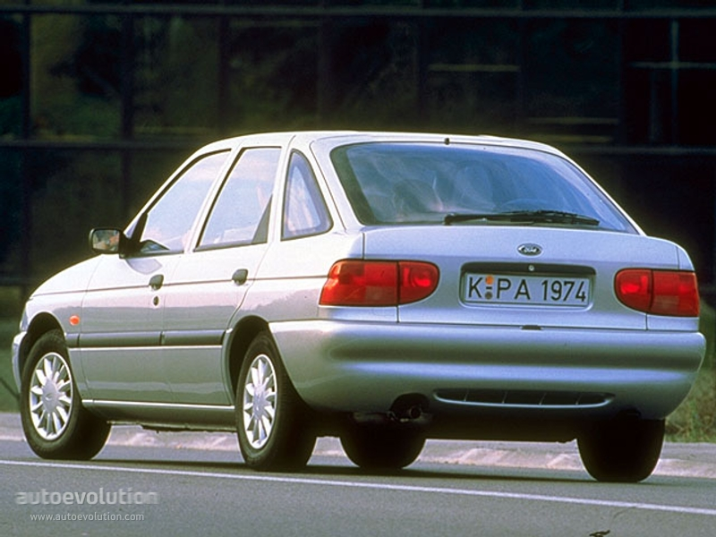 FORD Escort 5 Doors - 1995, 1996, 1997, 1998, 1999, 2000 ...