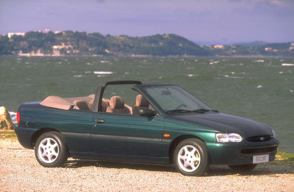 FORD Escort Cabrio - 1995, 1996, 1997, 1998 - autoevolution