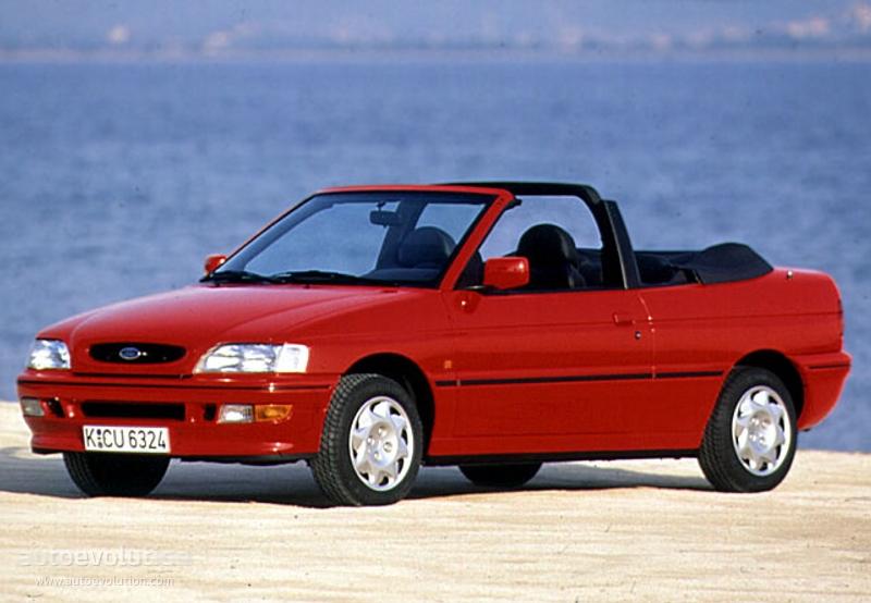 FORD Escort Cabrio 1993 1994 1995 autoevolution