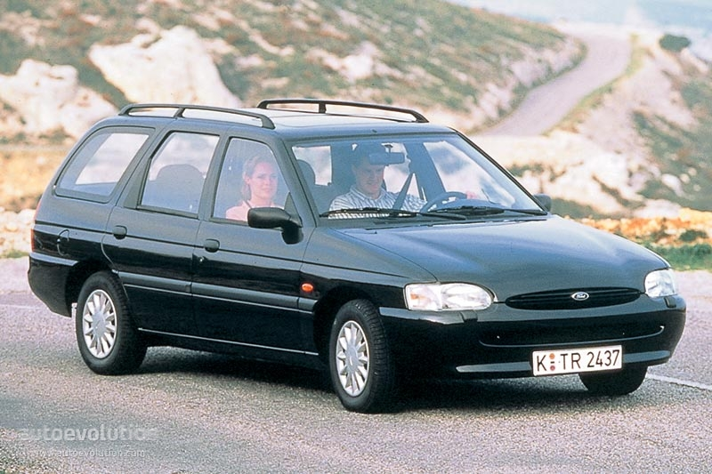 Ford Escort Wagon 1995 on new ktm engines