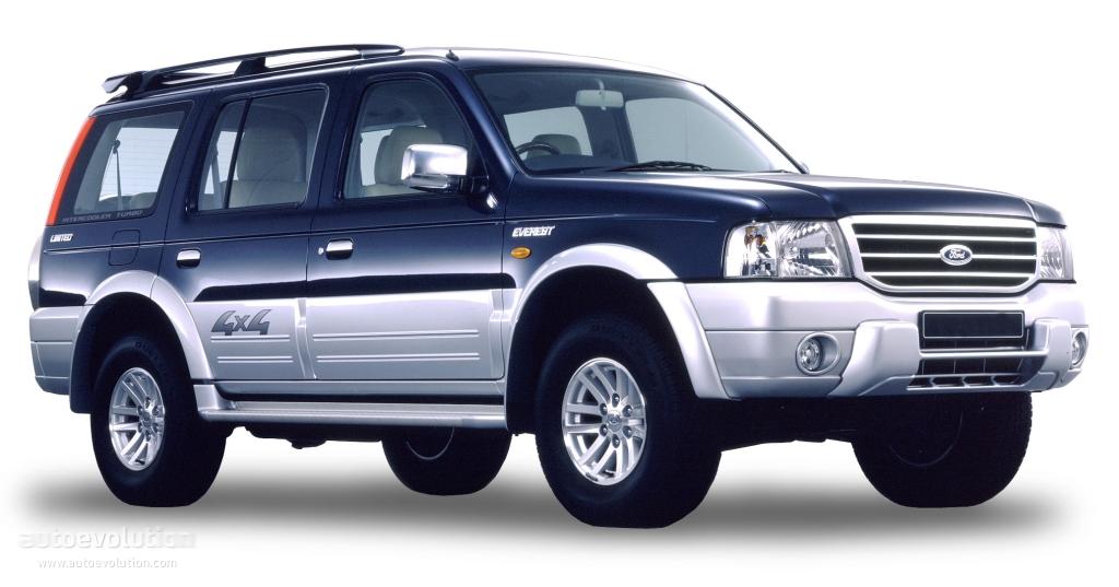 Ford everest 2003 2004 2005 2006 2007 autoevolution