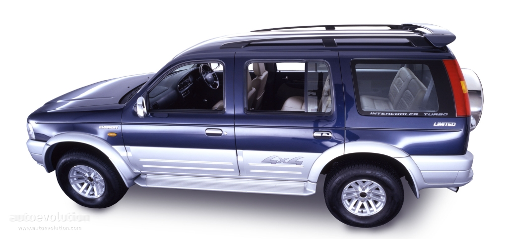 FORD Everest specs - 2003, 2004, 2005, 2006, 2007 ...
