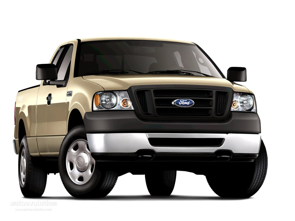 FORD F-150 Regular Cab specs & photos - 2004, 2005, 2006 ...