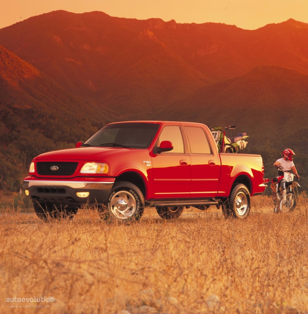 FORD F-150 Super Crew specs & photos - 2001, 2002, 2003 ...