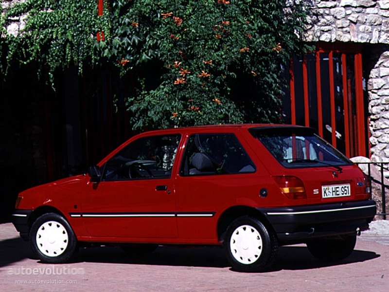 Ford Fiesta 3 Doors Specs Amp Photos 1989 1990 1991