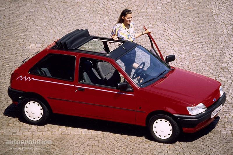 FORD Fiesta 3 Doors specs & photos - 1994, 1995 ...