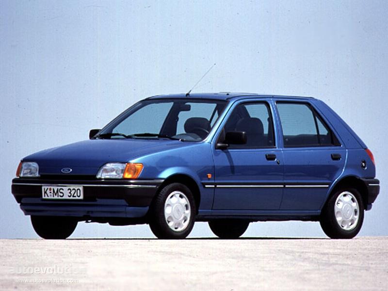 Ford Fiesta 5 Doors 1989 1990 1991 1992 1993 1994