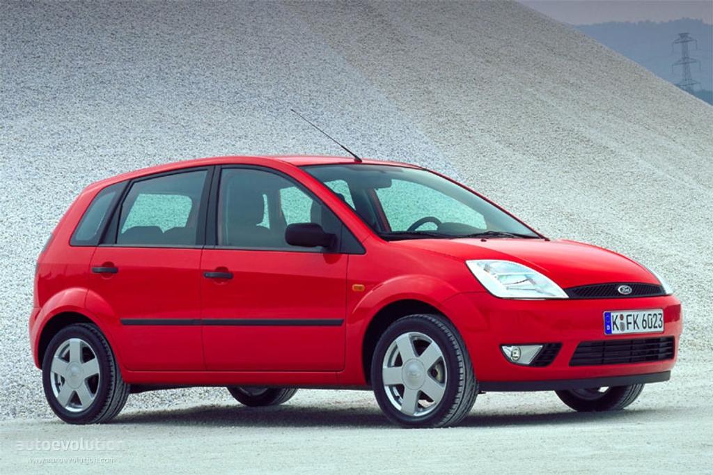 Ford fiesta 5 doors specs 2002