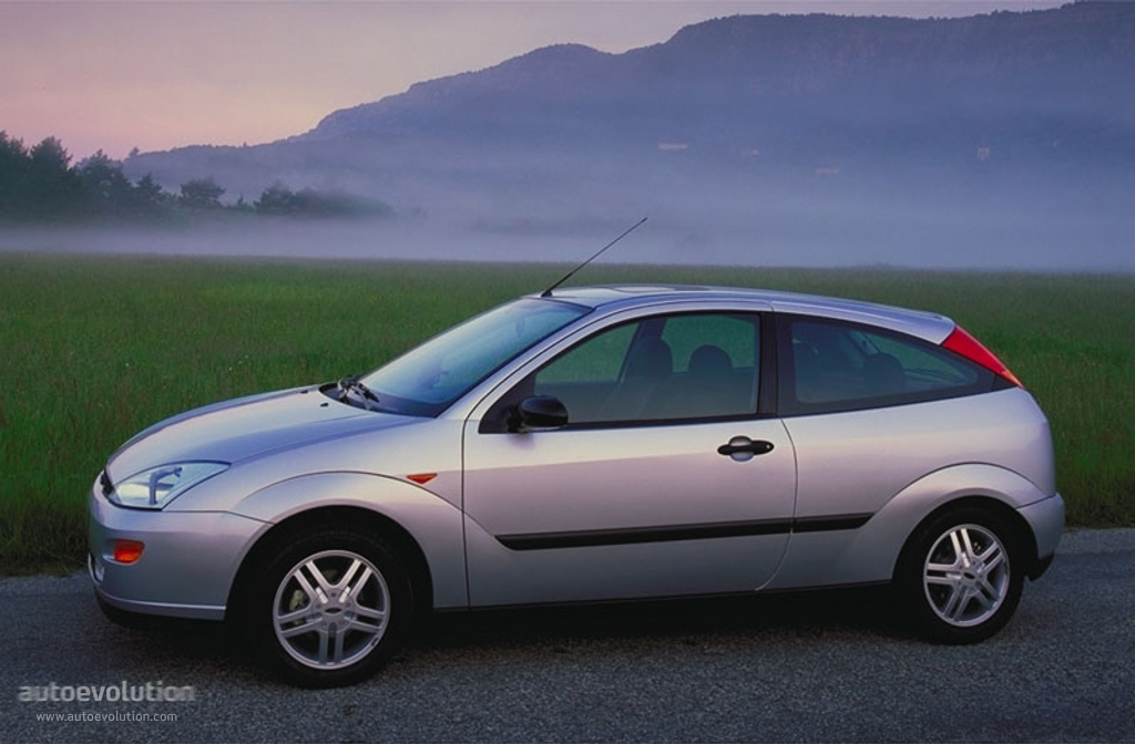 FORD Focus 3 Doors specs & photos - 1998, 1999, 2000, 2001 ...