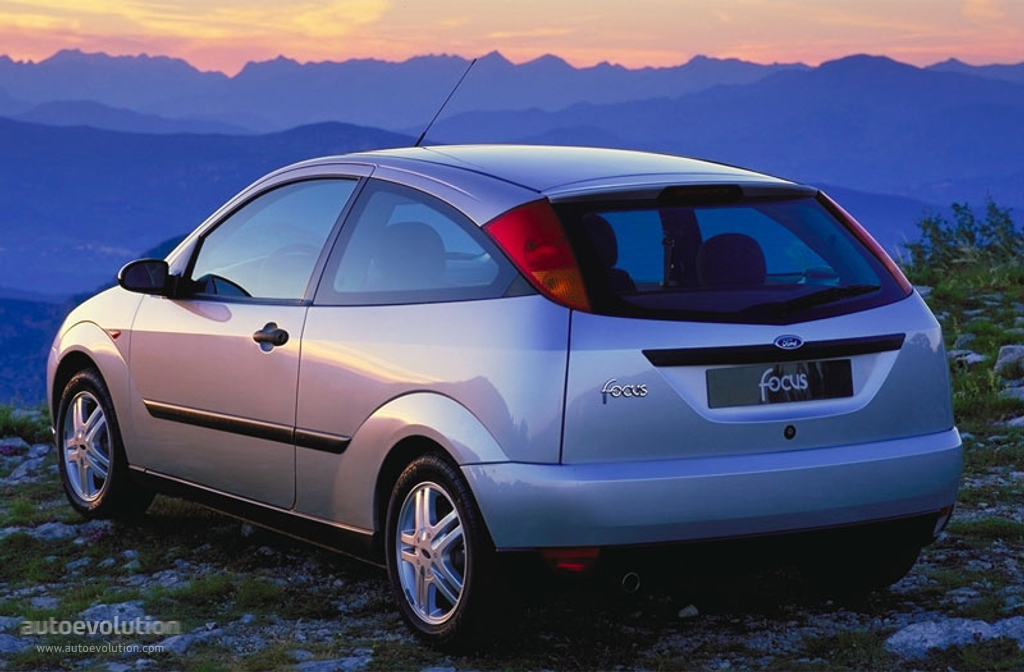 FORD Focus 3 Doors specs - 1998, 1999, 2000, 2001 ...