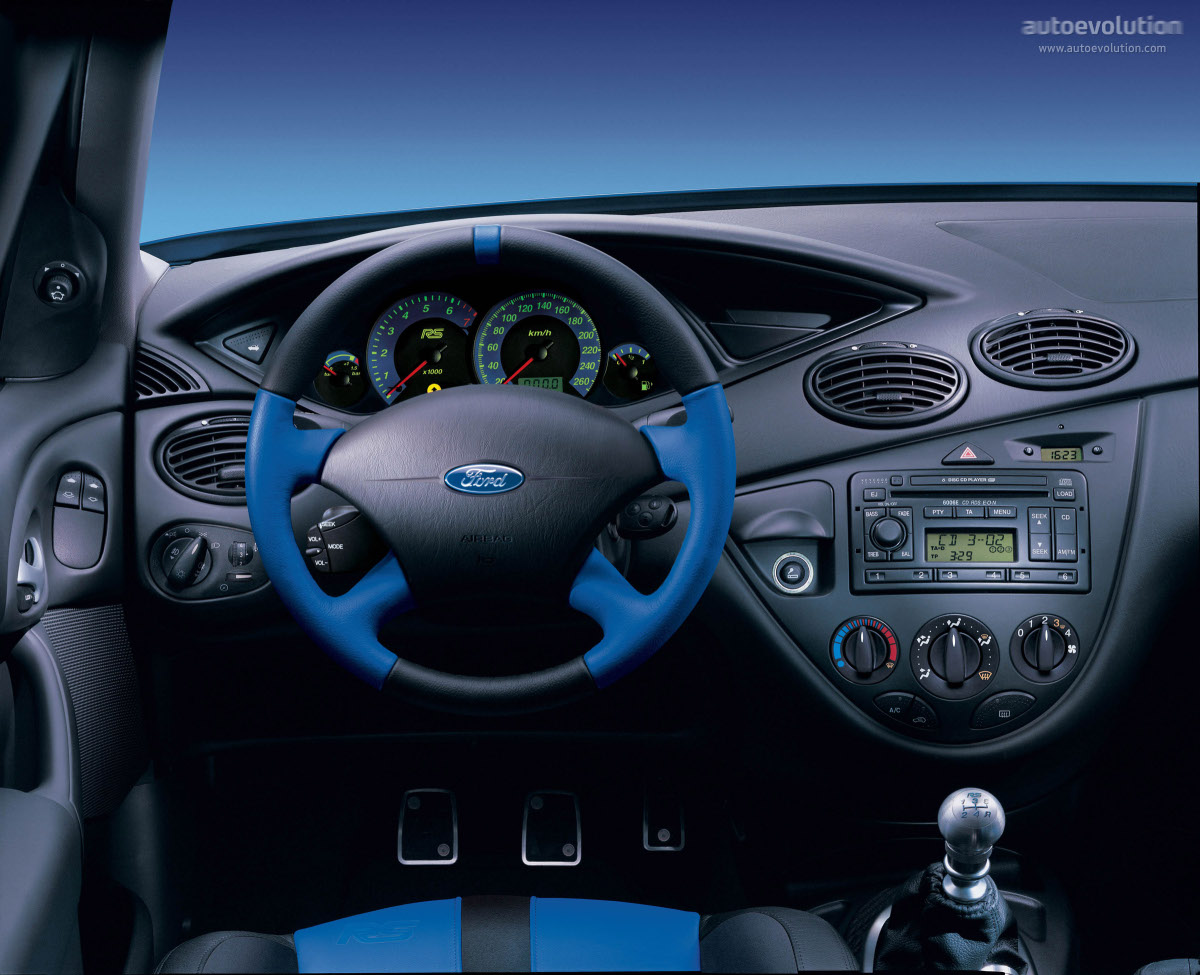Ford Focus Rs Specs 2002 2003 Autoevolution