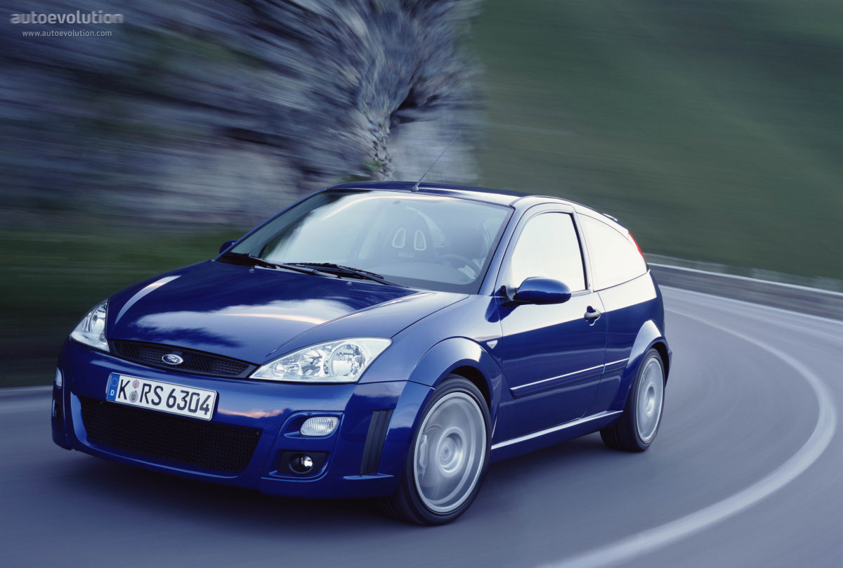 Used Mustang Parts >> FORD Focus RS specs & photos - 2002, 2003 - autoevolution