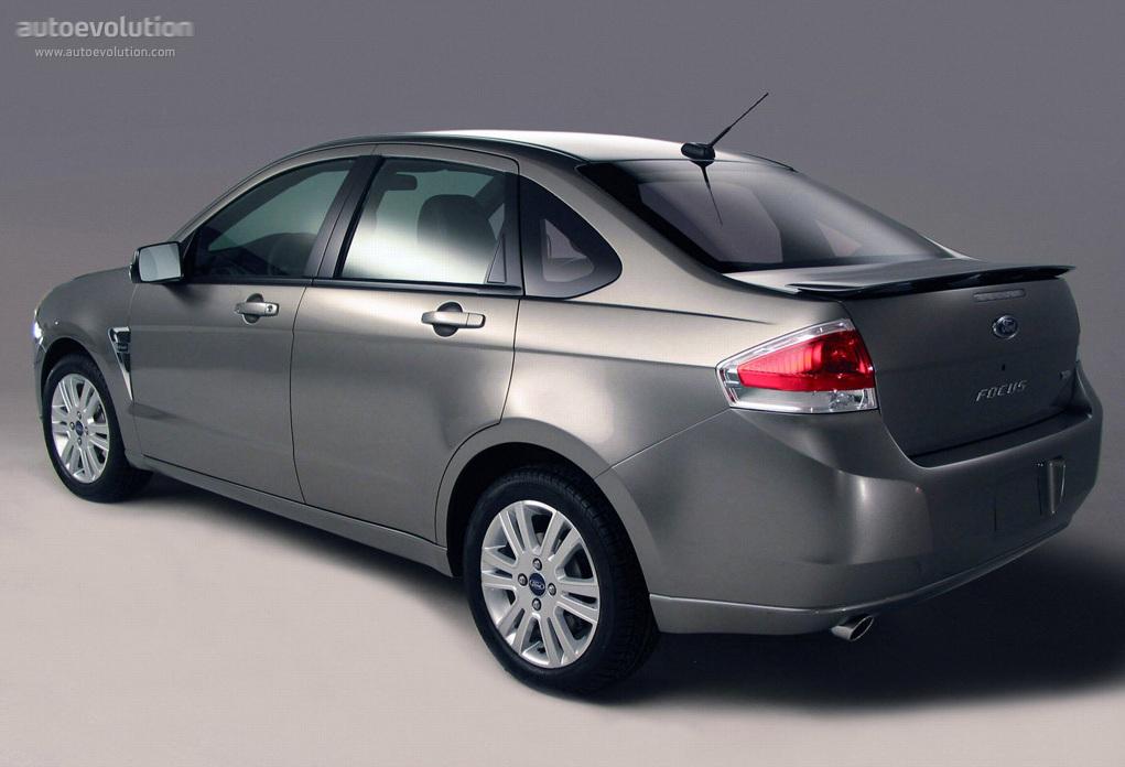 Ford Focus Sedan 2007 2008 2009 2010 Autoevolution