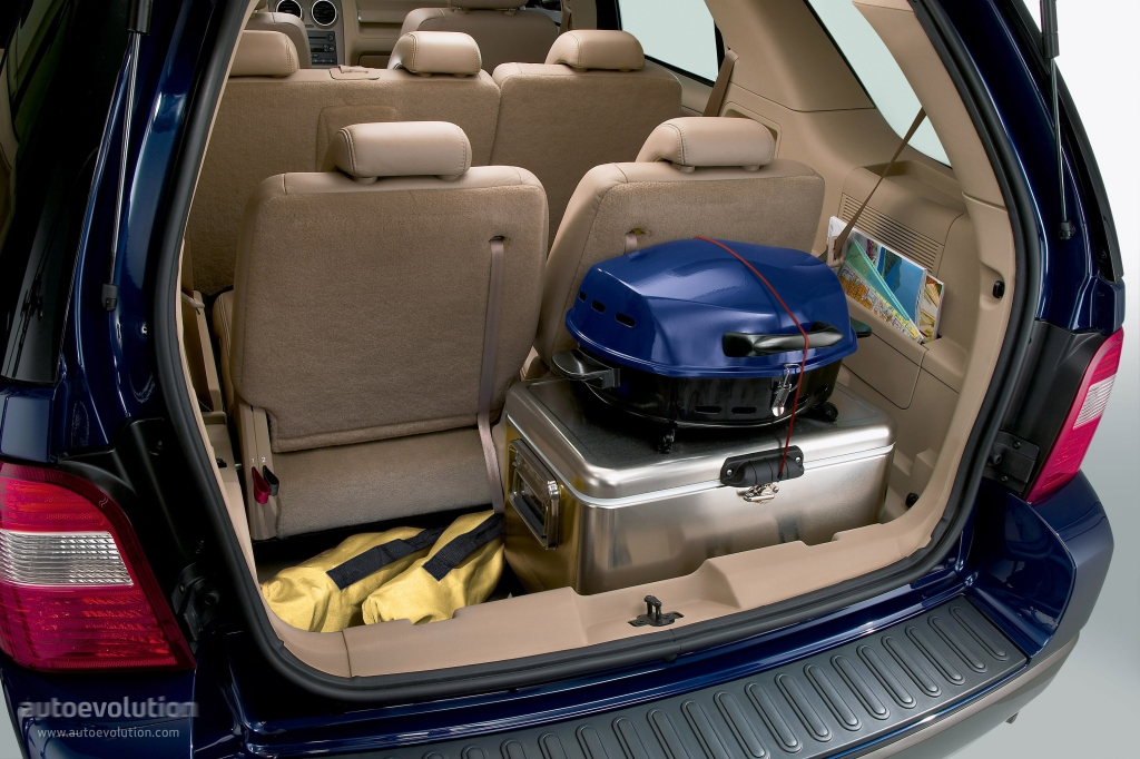 Ford freestyle cargo space