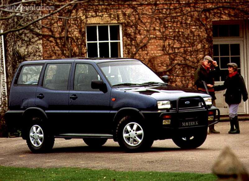 FORD Maverick LWB specs & photos - 1993, 1994, 1995, 1996 - autoevolution