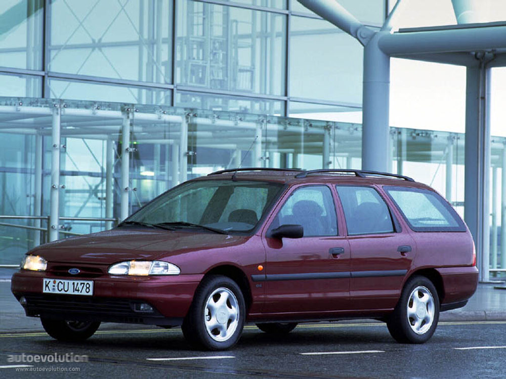 Who Owns Land Rover >> FORD Mondeo Wagon - 1993, 1994, 1995, 1996 - autoevolution