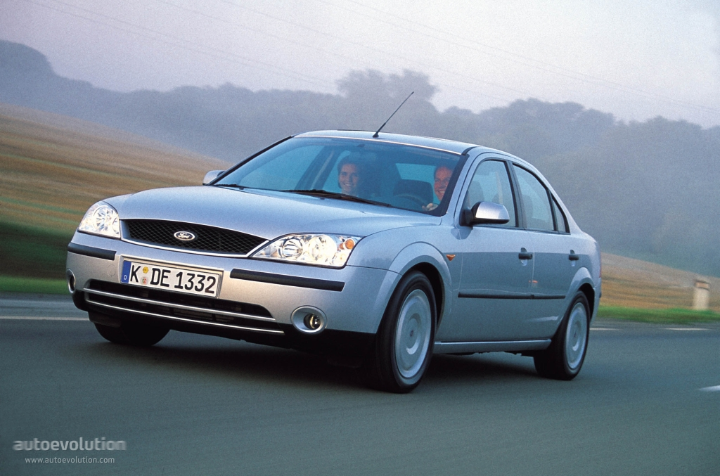 Ford Mondeo Sedan 2000 2001 2002 2003 Autoevolution