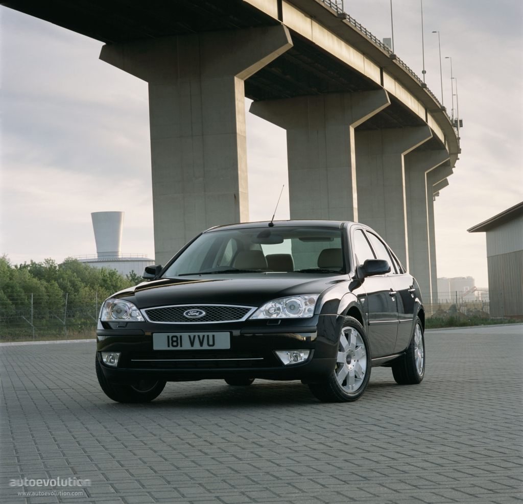 FORD Mondeo Sedan specs & photos - 2003, 2004, 2005 ...