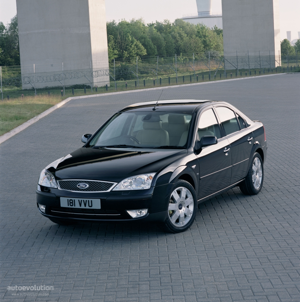 Ford Mondeo Sedan 2003 on 5 7 engines gmc