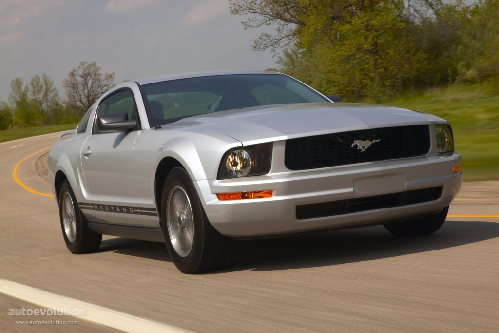 FORD Mustang specs & photos - 2004, 2005, 2006, 2007, 2008 - autoevolution
