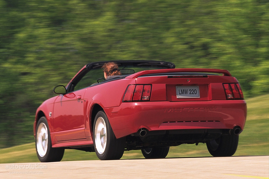 FORD Mustang Convertible specs & photos - 1998, 1999, 2000, 2001, 2002, 2003, 2004 - autoevolution