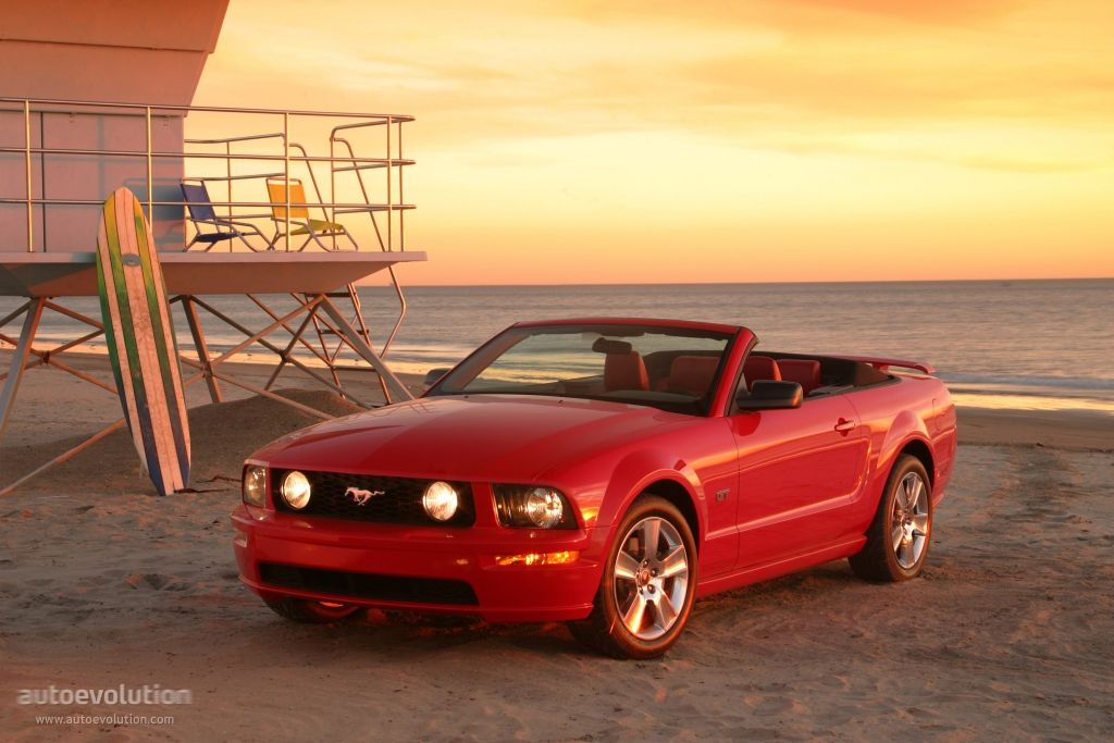 Ford mustang convertible specs 2004 2005 2006 2007 2008 autoevolution