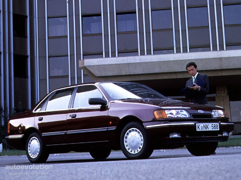 Ford Scorpio Sedan Specs 1990 1991 1992 Autoevolution
