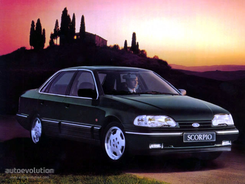 Ford Scorpio Sedan Specs 1992 1993 1994 Autoevolution