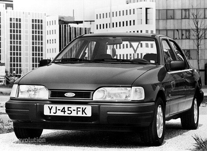 FORD Sierra Sedan specs & photos - 1990, 1991, 1992, 1993 - autoevolution