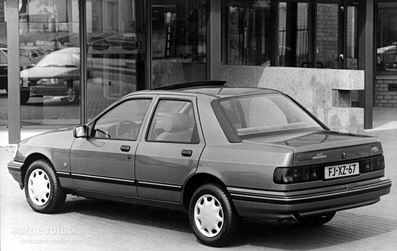Ford Sierra Sedan Specs Autoevolution
