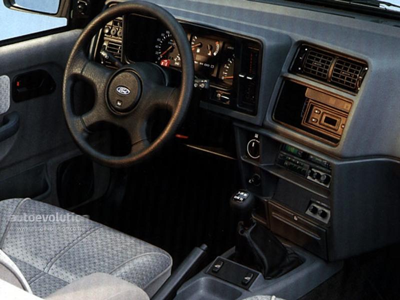Ford Sierra Sedan Specs Amp Photos 1990 1991 1992 1993