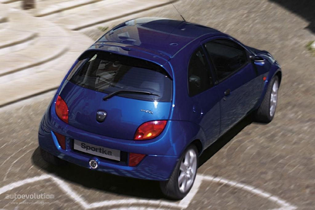 FORD SportKa specs & photos - 2003, 2004, 2005, 2006, 2007, 2008 - autoevolution