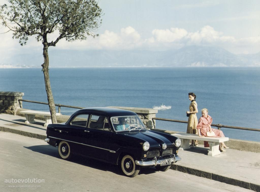 Ford Taunus 12m Specs 1952 1953 1954 1955 1956 1957