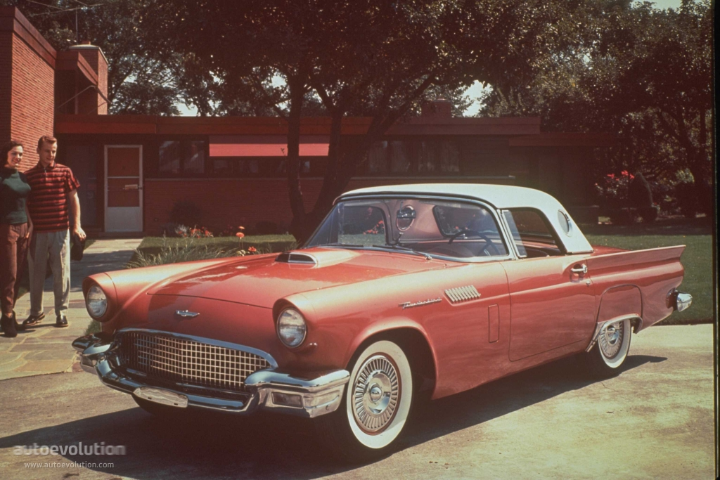 FORD Thunderbird specs & photos - 1957 - autoevolution