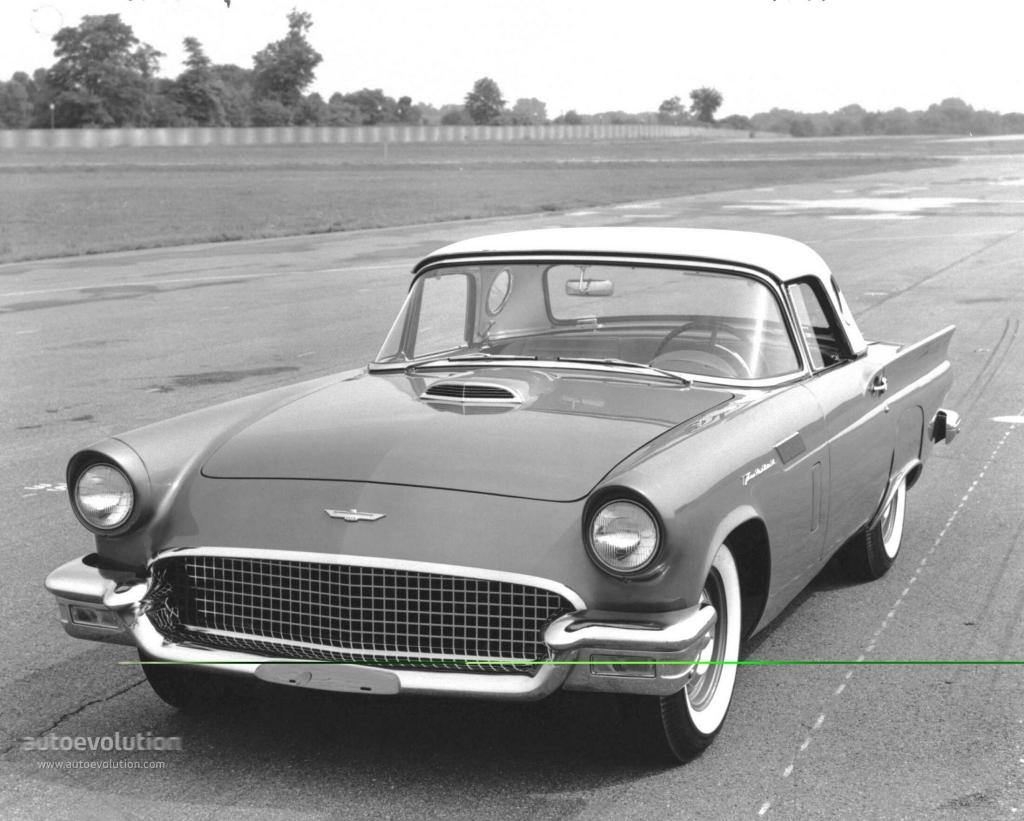 ford thunderbird 1957 autoevolution. Black Bedroom Furniture Sets. Home Design Ideas