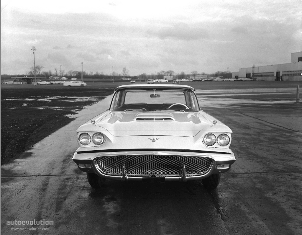 FORD Thunderbird specs & photos - 1958 - autoevolution