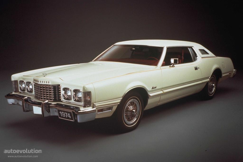 FORD Thunderbird specs & photos - 1972, 1973, 1974, 1975 ...