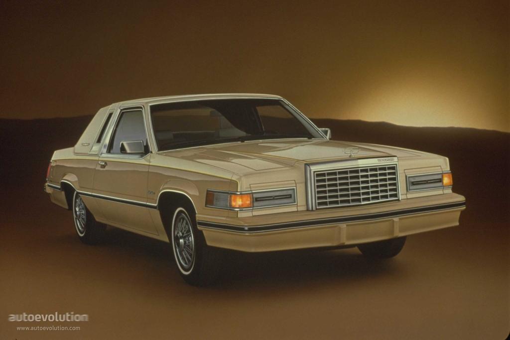 FORD Thunderbird specs & photos - 1980, 1981, 1982 - autoevolution