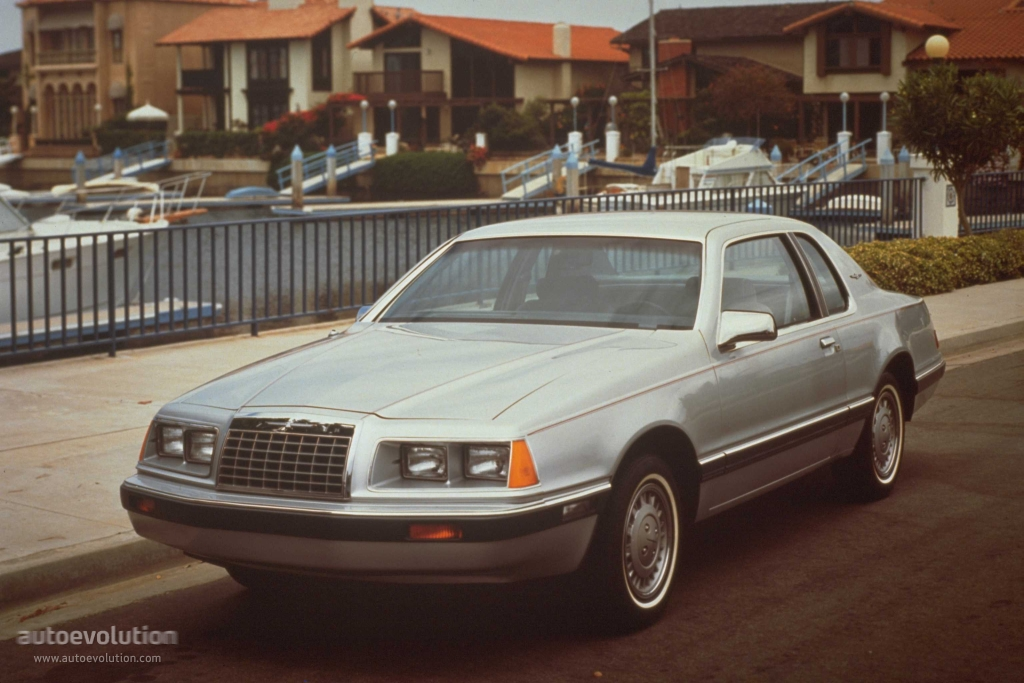 FORD Thunderbird specs & photos - 1983, 1984, 1985, 1986, 1987, 1988 - autoevolution