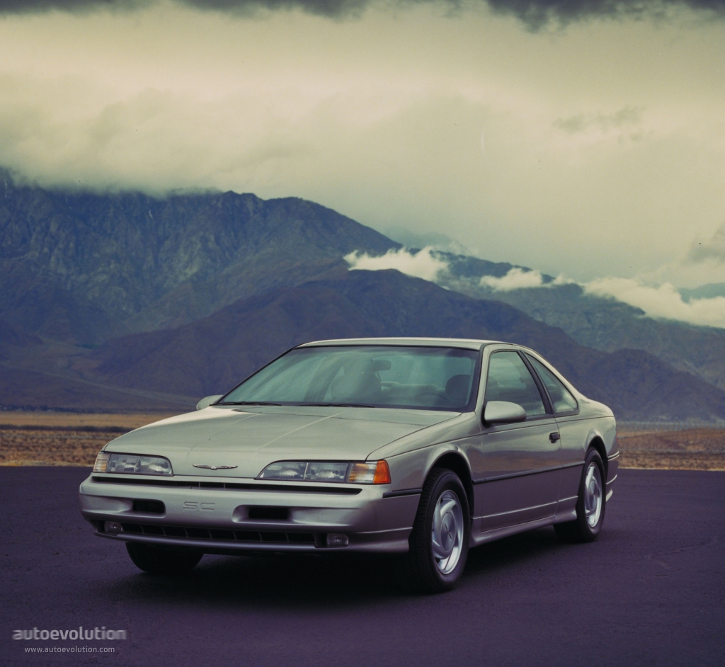 FORD Thunderbird specs & photos - 1989, 1990, 1991, 1992 ...