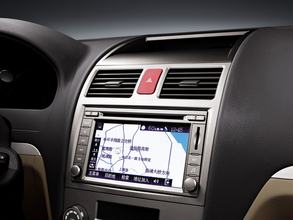 Geely Cars Interior
