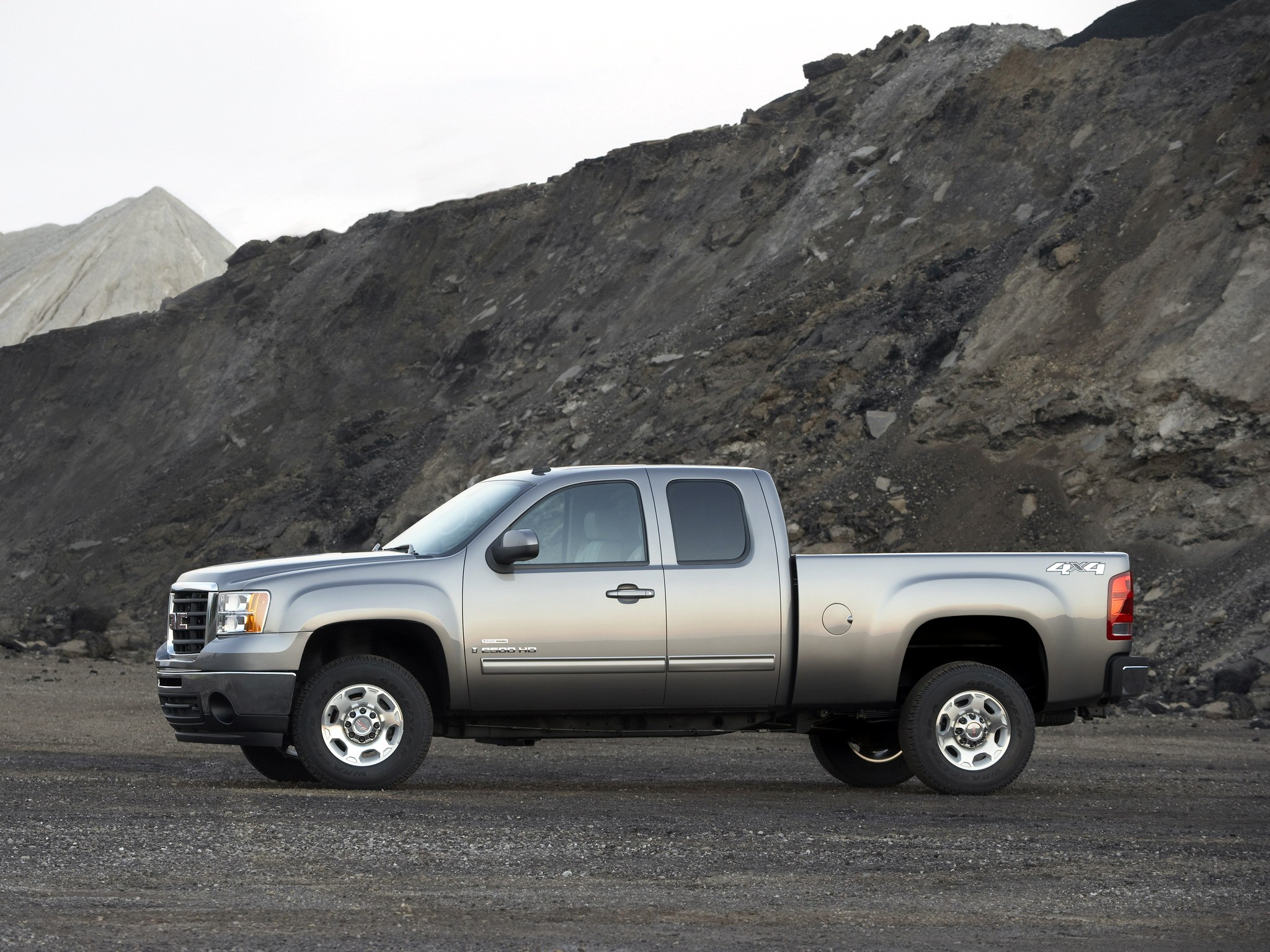 gmc sierra cab 2500 extended 2500hd hd 2008 2009 wheels autoevolution conceptcarz front cars end information