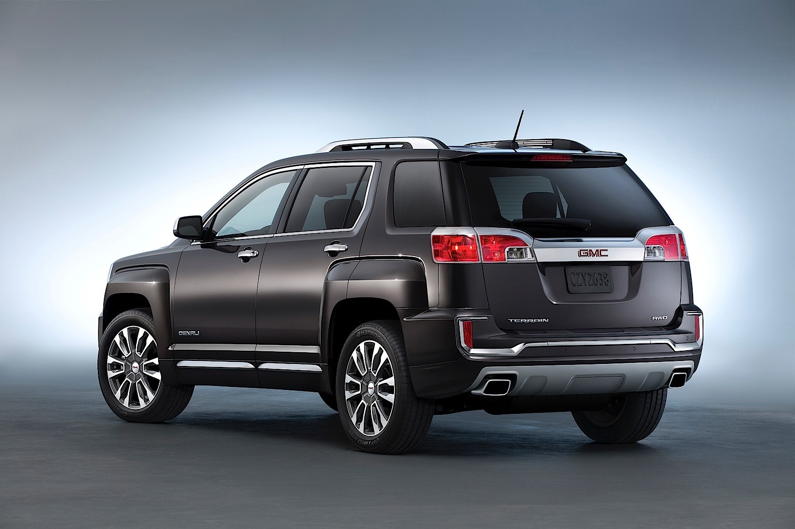 GMC Terrain specs & photos - 2016, 2017 - autoevolution