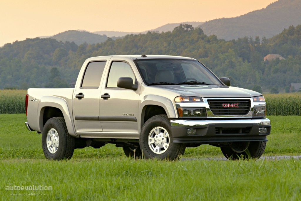 GMC Canyon Double Cab specs & photos - 2004, 2005, 2006, 2007, 2008, 2009, 2010, 2011, 2012 ...