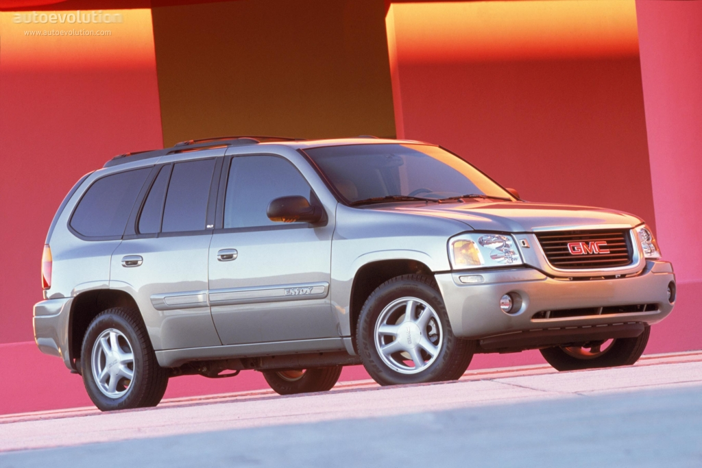 GMC Envoy specs & photos - 2001, 2002, 2003, 2004, 2005 ...
