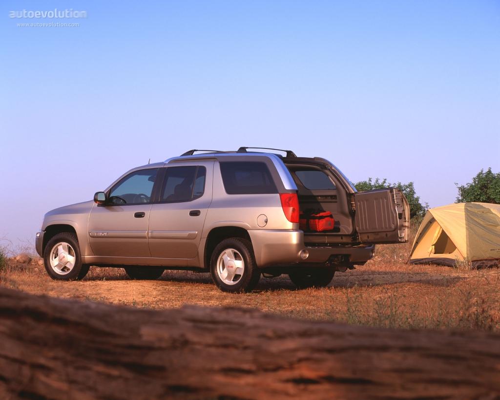 GMC Envoy XUV specs - 2003, 2004, 2005 - autoevolution