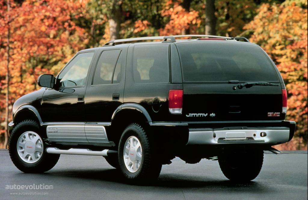 GMC Jimmy 5 Doors - 1997, 1998, 1999, 2000, 2001 ...